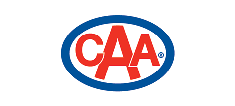 Shop with CAA logo